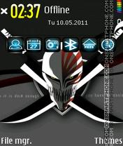 Bleach Logo theme screenshot