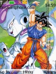 Goku with split bomb theme screenshot