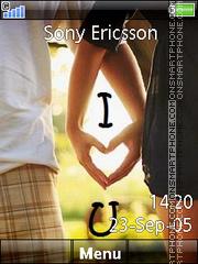 I Love You 38 es el tema de pantalla