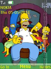 The Simpsons 12 es el tema de pantalla