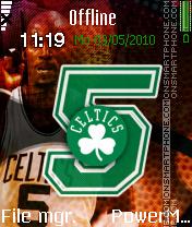 Boston Celtics Kg5 es el tema de pantalla