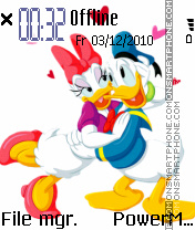 Daisy And Donald es el tema de pantalla