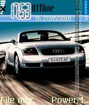 Audi 20 es el tema de pantalla