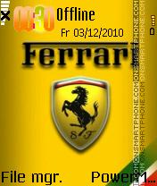 Ferrari Power es el tema de pantalla