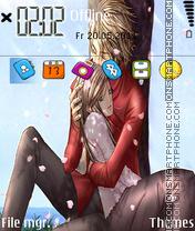 Anime Couple theme screenshot