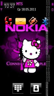 Nokia Pink Kitty es el tema de pantalla