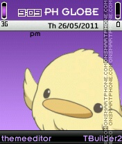 Hibird Theme es el tema de pantalla