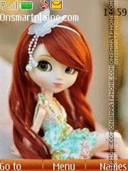 Cute Doll 03 theme screenshot