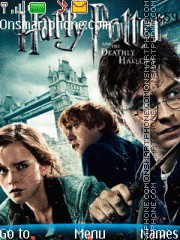 Harrypotter 7 with tone theme screenshot