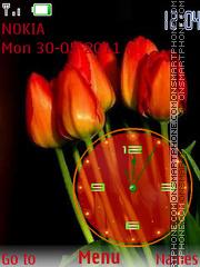 Tulips es el tema de pantalla