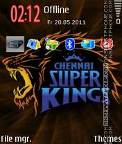 Chennai Super Kings 03 es el tema de pantalla