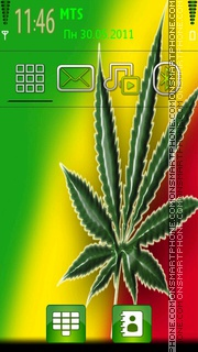 Ganja theme screenshot