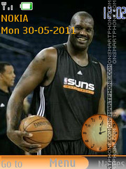 Shaquille Rashaun O'Neal by RIMA39 theme screenshot