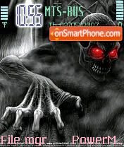Demon 01 theme screenshot