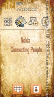 New Nokia Style Menu theme screenshot