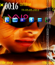 Sony Vaio 03 theme screenshot