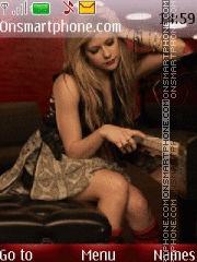 Avril Lavigne 15 theme screenshot