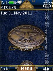 Capture d'écran Jeans Montana thème