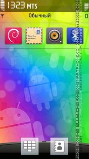 HTC Android Theme es el tema de pantalla