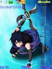 Sasuke Ne theme screenshot