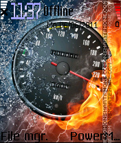 Speed 291 es el tema de pantalla