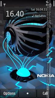 Nokia Future 01 es el tema de pantalla