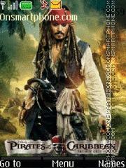Jack Sparrow 10 es el tema de pantalla