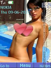 Sexy model161 theme screenshot
