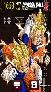 Goku Vs... tema screenshot
