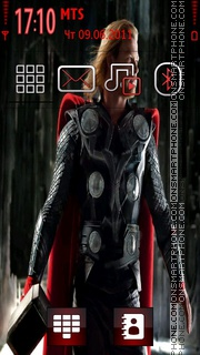 Thor Movie tema screenshot