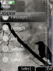 Black Raven CLK theme screenshot
