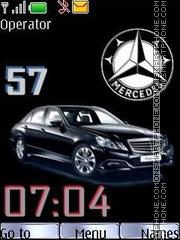 Mercedes swf theme screenshot