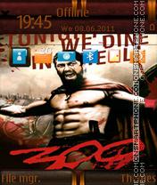 The 300 Spartans 02 es el tema de pantalla