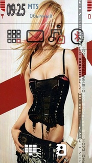 Avril Lavigne 16 theme screenshot