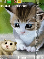 Cat Mouse theme screenshot